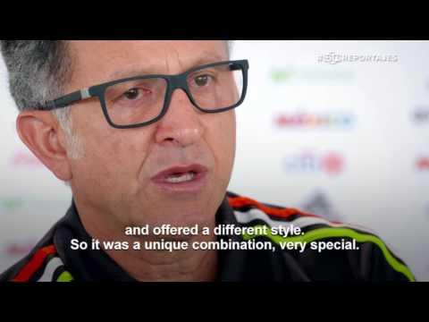 Juan Carlos Osorio In Liverpool