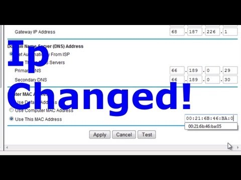 Get unbanned - change your ip adress with a router TUT - hacking tip!