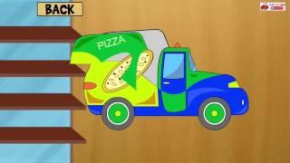 Hoạt hình ô tô buýt vui nhộn cho bé - Lắp ráp ô tô hoạt hình xe bus