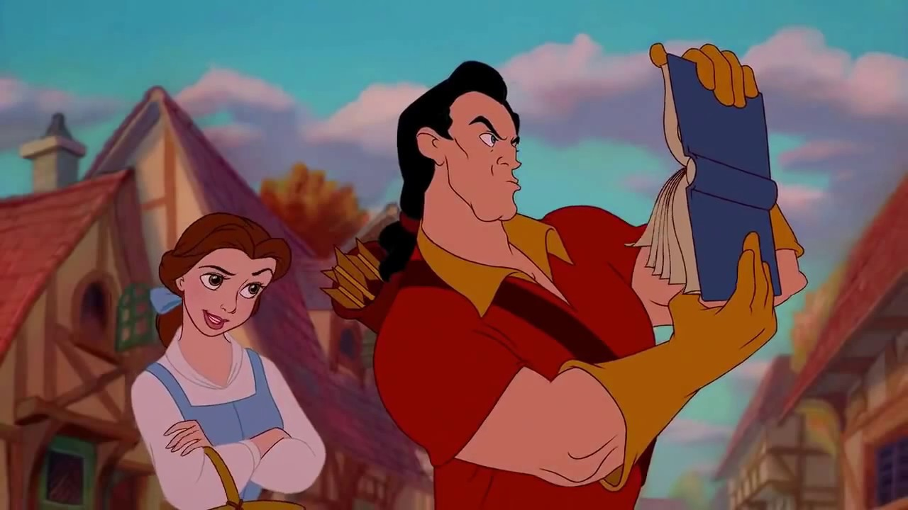 gaston thoughts on women reading youtube