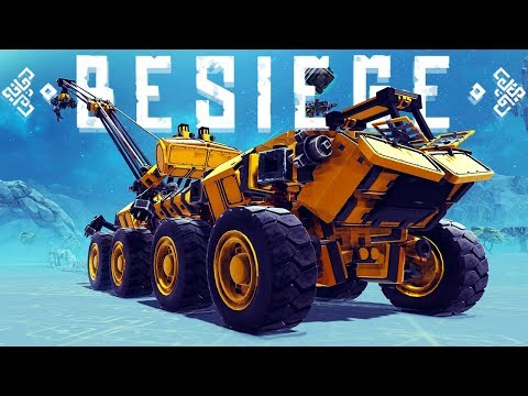 Besiege - Eagle Ornithopter, Tank Holding Cargo Plane & A Giant Crane - Besiege Best Creations