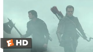 The Great Wall (2017) - Fighting Blind Scene (7/10) | Movieclips