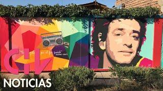 El increíble mural de Gustavo Cerati en Quinta Normal que todos quieren conocer