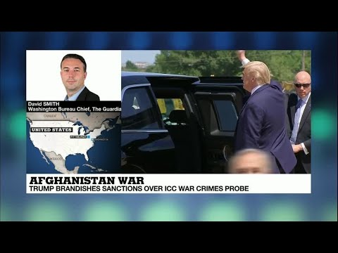 Trump Authorises Sanctions Against ICC For Investigating US War Crimes In Afghanistan