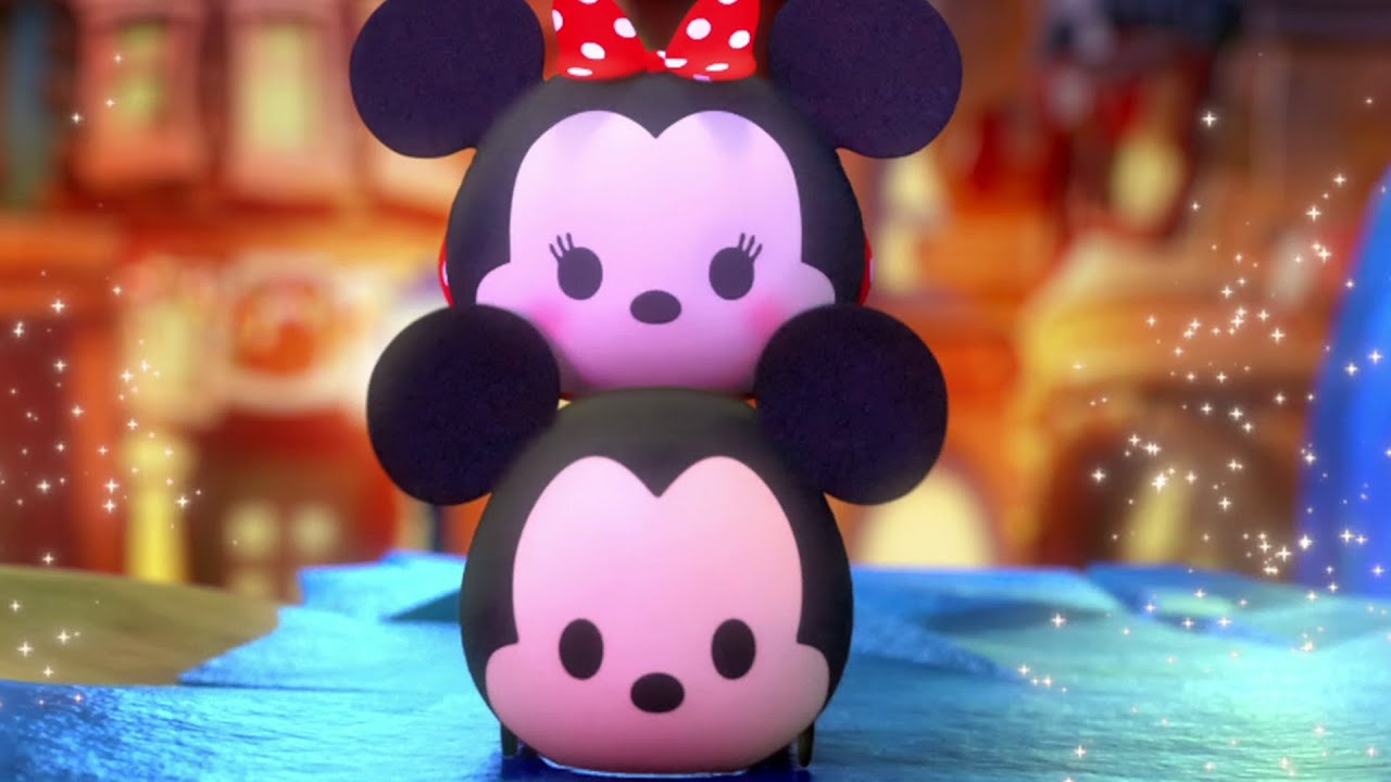 Cute Minnie Mouse Wallpaper Frozen A Tsum Tsum Short Disney Youtube