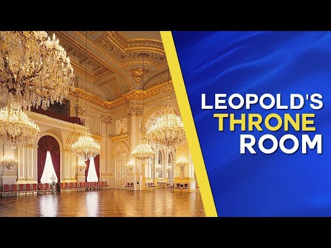 The Royal Throne Room Of King Leopold II