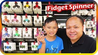 FIDGET SPINNER Toy Hunt at Shopping Mall 6, I Got Free Fidget Spinner - TigerBox HD