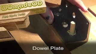 Make A Dowel Plate From Scrap