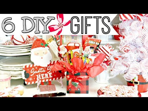 "🎄6 DIY DOLLAR TREE CHRISTMAS GIFT IDEAS 2019🎄""I Love Christmas"" ep25 Olivia's Romantic Home DIY"