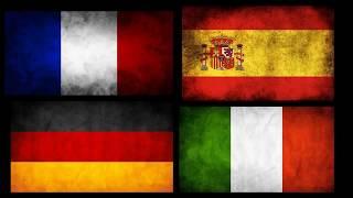 Французский Испанский Немецкий Итальянский