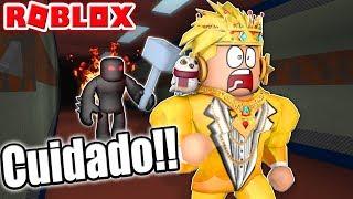 CUIDADO con la BESTIA en ROBLOX!!! 😂🔨 | Flee the facility | RODNY