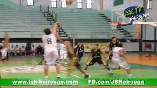 Basketball : JSK (85 vs 51) CAB .:. JSK.Tv (JSK-Kairouan) le 04-04-2014