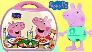 Peppa Pig Cooking Mini Pizza Shop Pizzeria Chef Set Carry Case