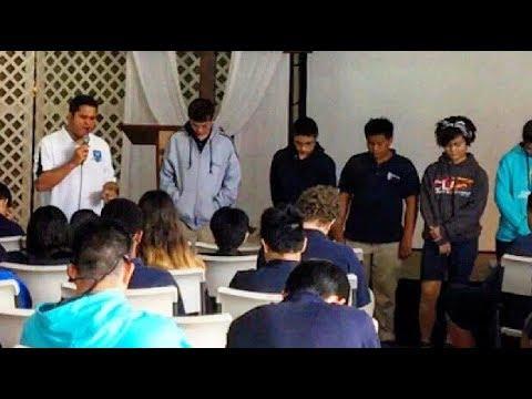 Chapel at Christian Liberty School - Keaau, Hawaii (English)