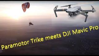 Sunset Paragliding ppgg, DJI Mavic Pro
