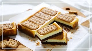 인생 치즈케이크 로투스 브라우니 치즈케이크 만들기 │이…