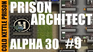 Prison Architect | Alpha 30 | Modded | Cold Kettle Prison | #9