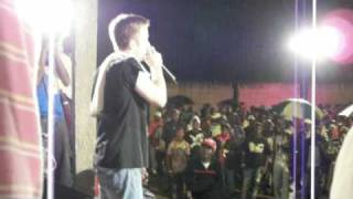 Sentinel Round 4 part 1 @ Sound Fi Dead Soundclash in Elderslie, Jamaica, Oct 17, 09