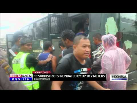 Thousands of People Homeless as Aceh Floods Take Toll