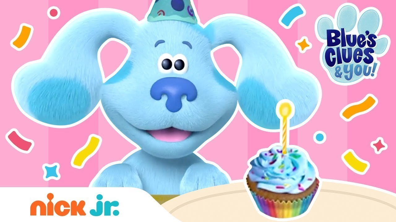 Blue's Clues & You: Happy Birthday Song 🍰🎉 Nick Jr.
