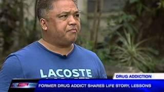 Former drug addict shares life story, lessons