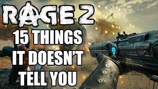 15 Beginners Tips And Tricks RAGE 2 Doesn't Tell You