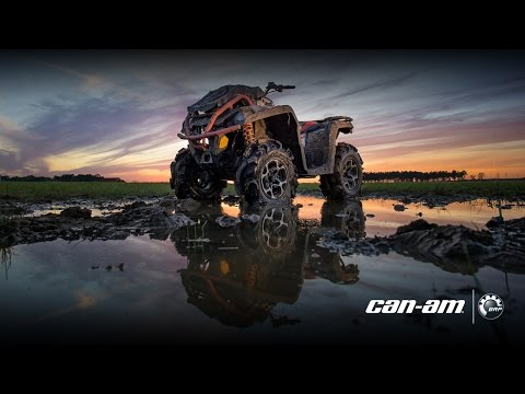 2016 Can Am Outlander xMR 1000R Review | Doovi