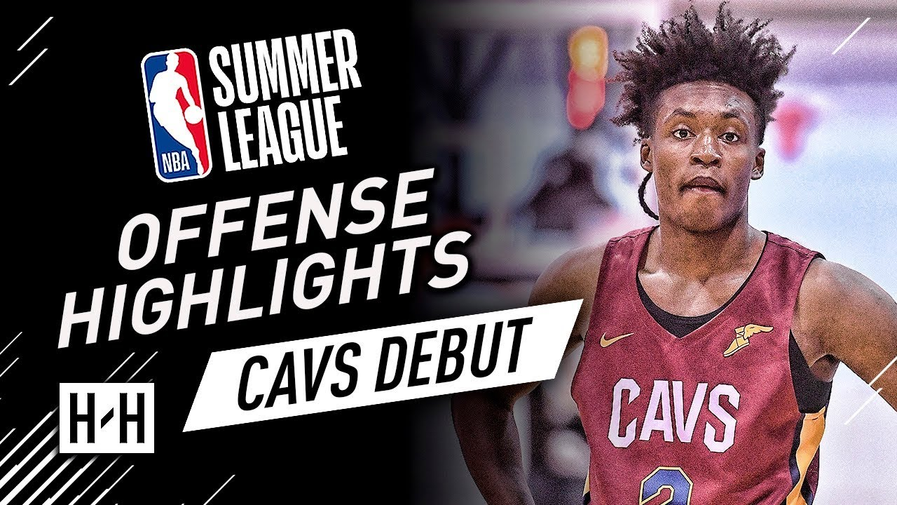brand new 987d2 be3a3 Collin Sexton YOUNG BULL Full Offense Highlights at 2018 NBA Summer League  - Cavaliers Debut!