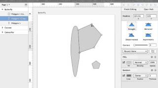 Quick GIF on Making a Butterfly Shape in Sketch