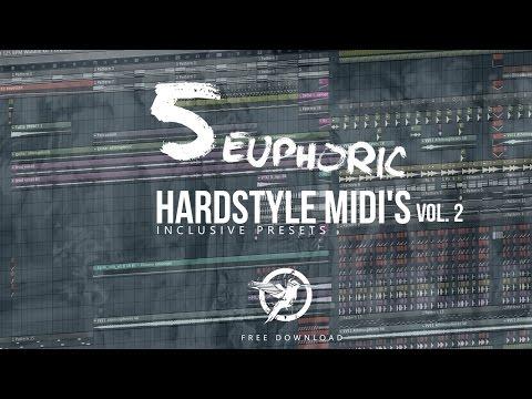 HBSP | 5 Euphoric Hardstyle MIDI's + Presets VOL 2 - FREE DOWNLOAD