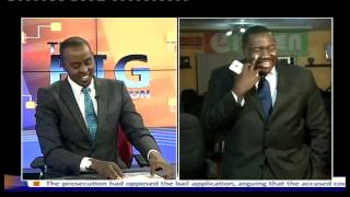 Willis Raburu Caught Dancing Before Going On-Air