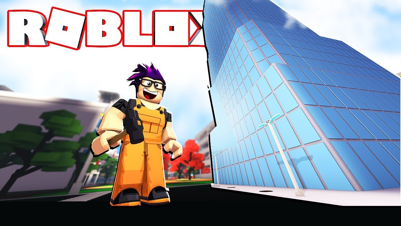 Building The Biggest Building In Roblox Building Simulator