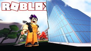 BUILDING THE BIGGEST BUILDING IN ROBLOX! (Building Simulator)