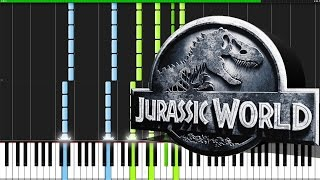 Jurassic World Medley [Piano Tutorial] (Synthesia)