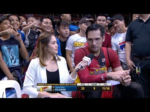 Best Player: June Mar Fajardo | PBA Philippine Cup 2018