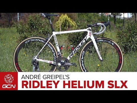 André Greipel's Ridley Helium SLX Pro Bike