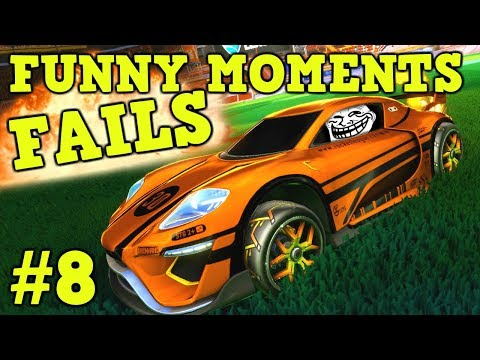 ROCKET LEAGUE FAILS & Funny Moments #8! (Funny Gameplay Compilation) thumbnail
