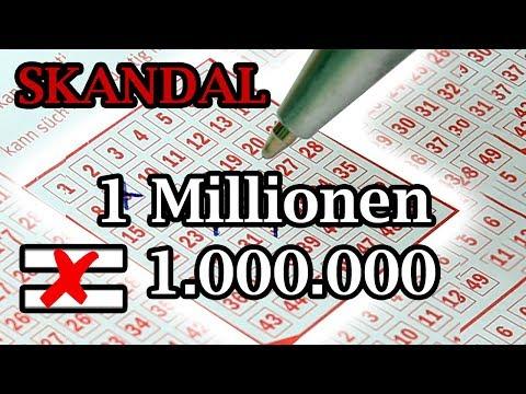 Lotto Skandal ❌ Millionenrente verlost weniger als 1.000.000€