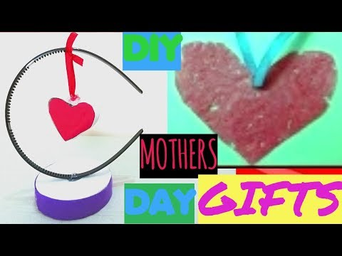 DIY Mothers Day Gifts-How To Make Paper Heart Showpiece And Heart Necklace Gifts For Mothers Day