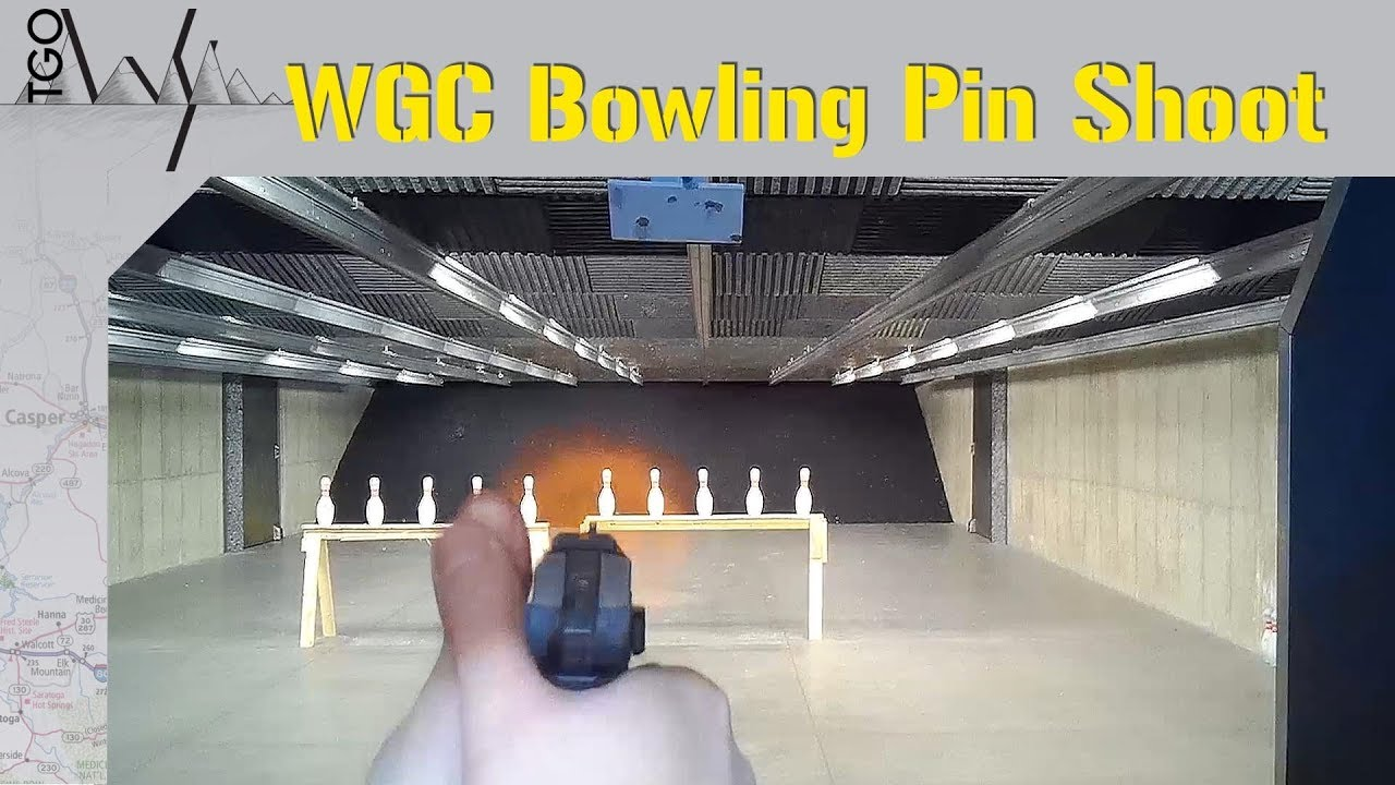 Bowling Pin Shoot - Wyoming Gun Company