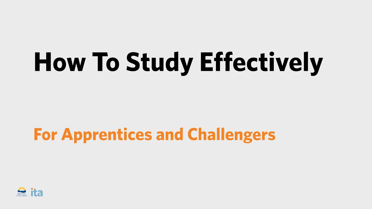 Exam and Study Supports | ITA BC