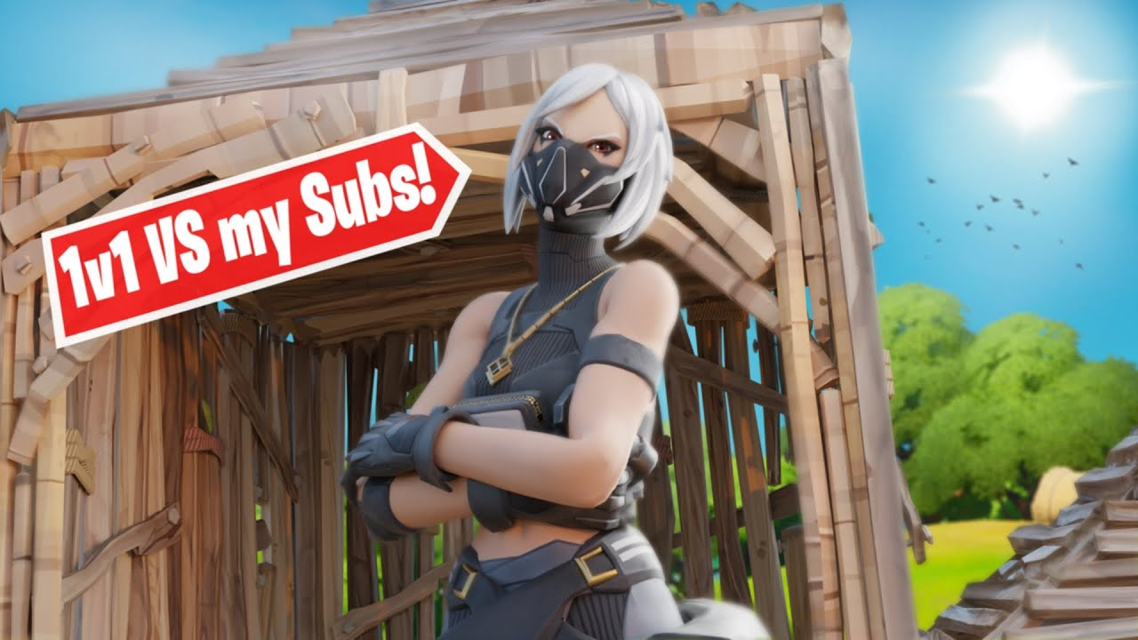 I Challenged my subscribers to a box fight... - Fortnite ...