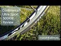 Continental Ultra Sport 700C  Road Bike Tire Review After 500KM! [4K]