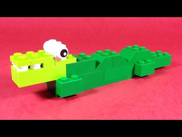 How To Make Lego CROCODILE  - 10664 LEGO® Bricks and More Creative Tower Tutorial