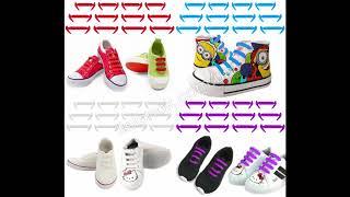 Силиконовые шнурки для детей - обзор