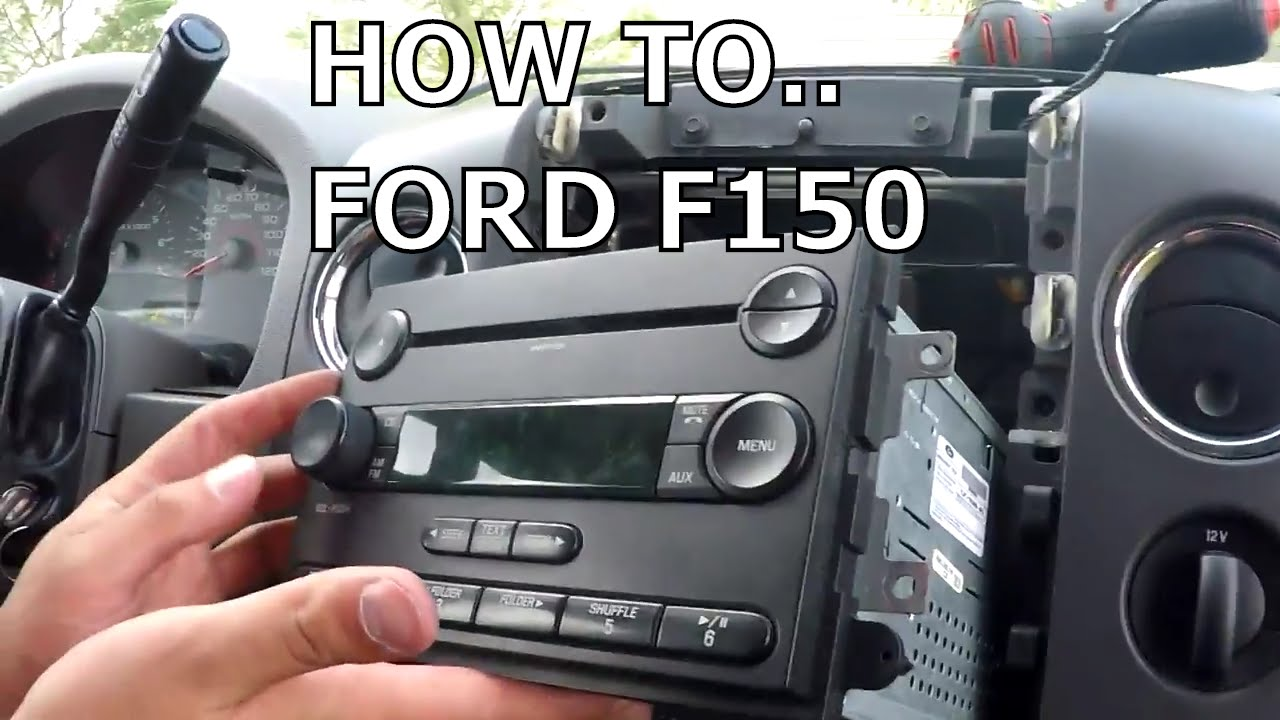 How To Fix Stock Radio Display Ford F150 2006 Or Not Youtube 2010 F350 Fuse Diagram