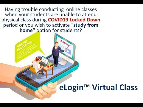 eLogin™ Virtual Class a Saviour in running the schools during Locked Down due to COVID 19 Pandemic