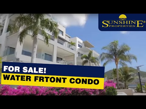 Sint Maarten Real Estate / Water front Condo For Sale