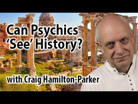 Retrocognition - the psychic power to see the past and future.  Seeing History.