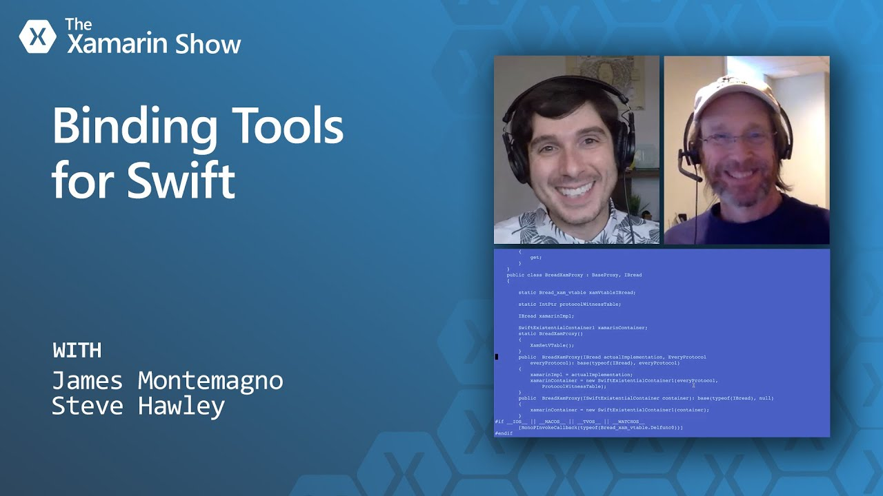 Binding Tools for Swift   The Xamarin Show